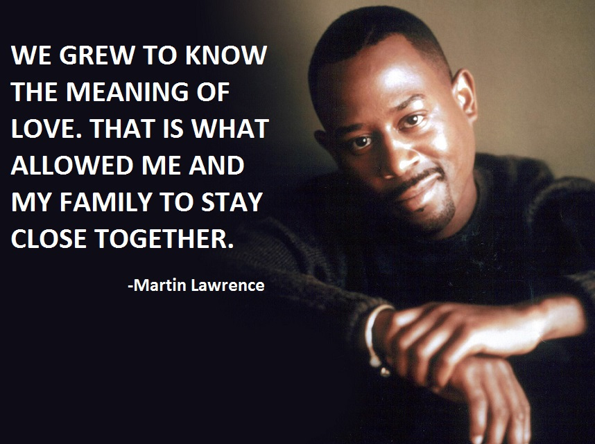 Martin Lawrence's quote #1