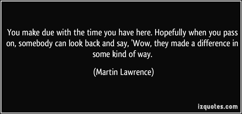 Martin Lawrence's quote #2