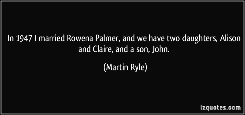 Martin Ryle's quote #3