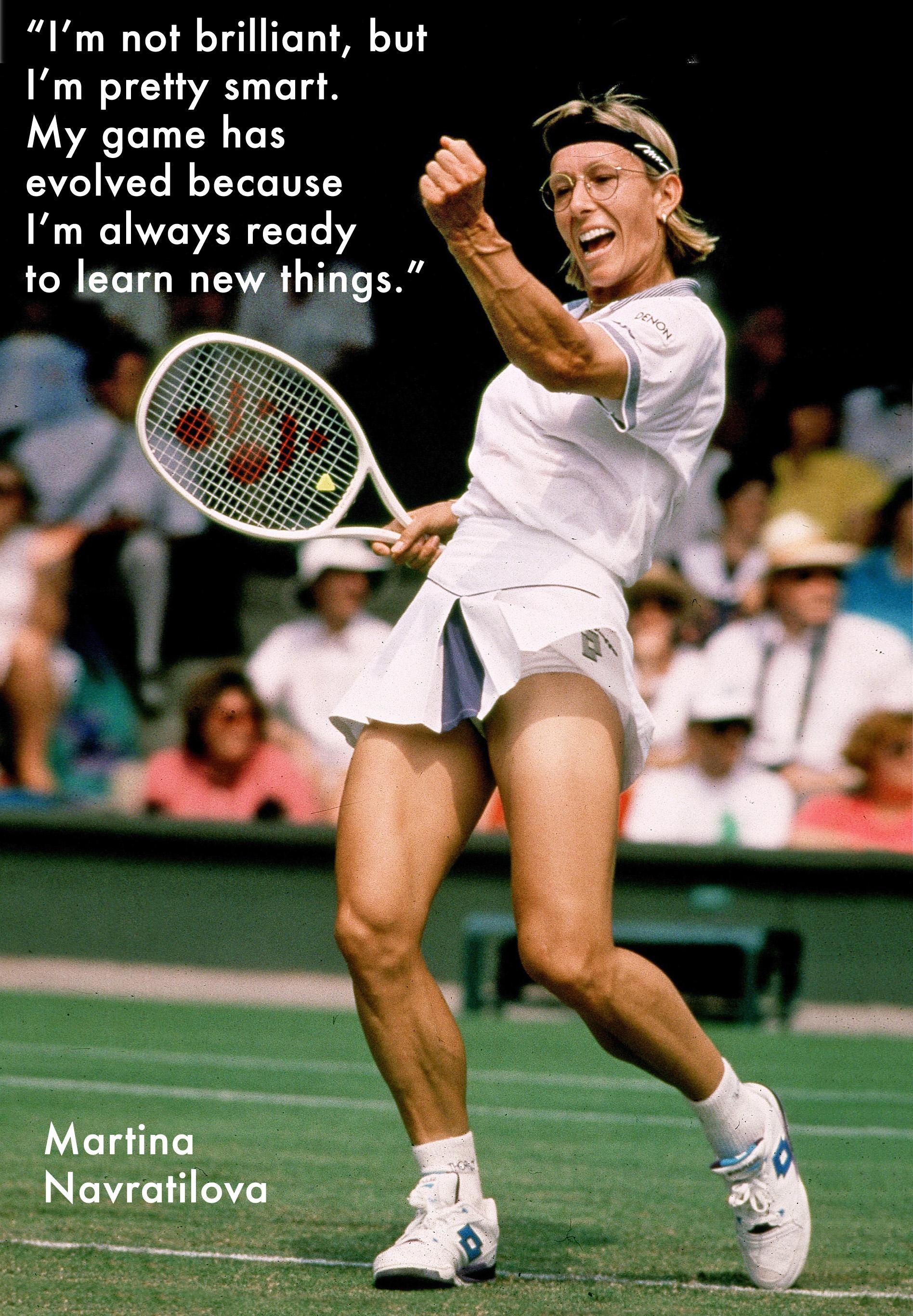 Martina Navratilova's quote #5
