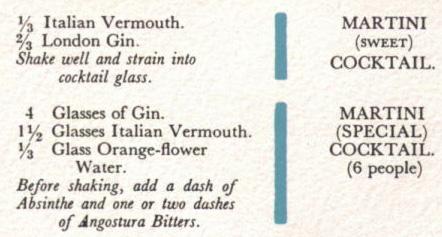 Martinis quote #1