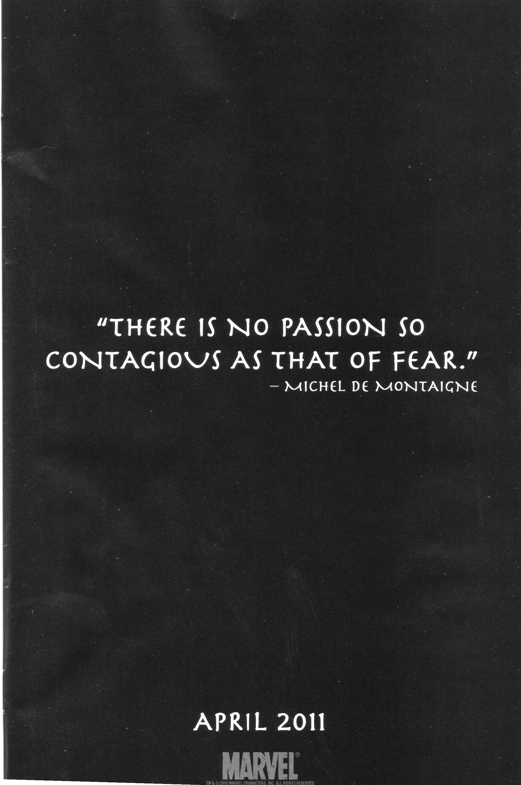 Marvels quote #1