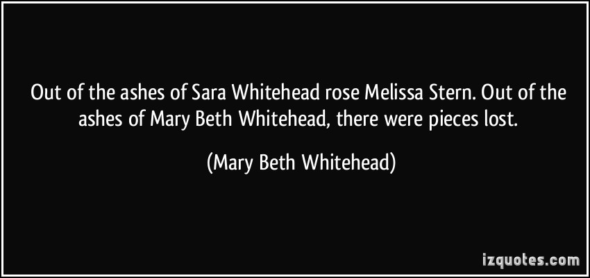 Mary Beth Whitehead's quote #1