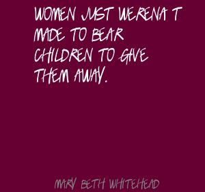 Mary Beth Whitehead's quote #6