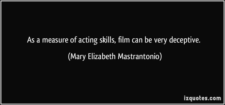 Mary Elizabeth Mastrantonio's quote