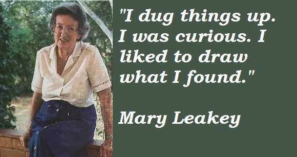 Mary Leakey's quote #1