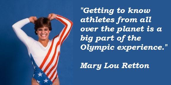 Mary Lou Retton's quote #3