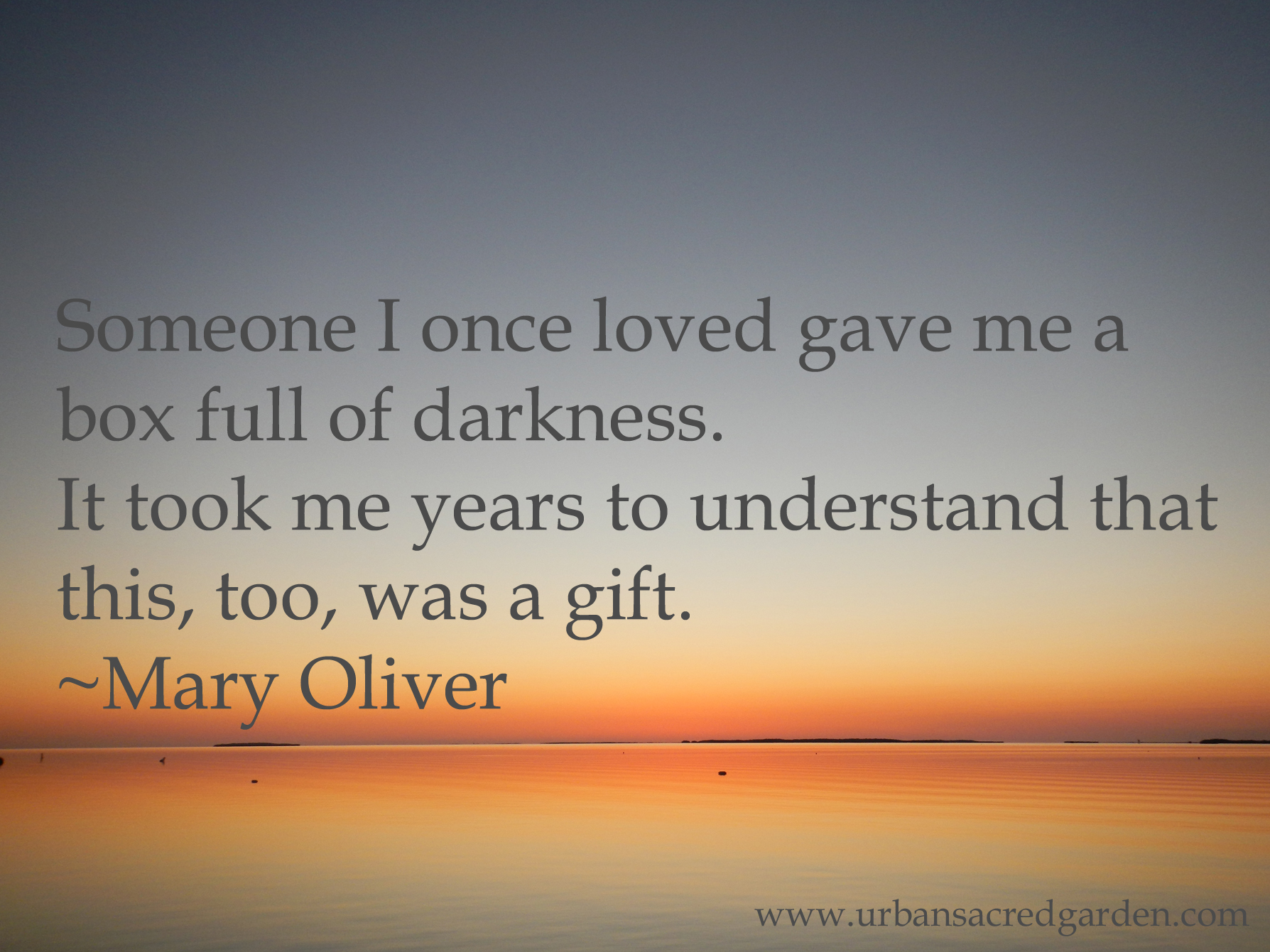 Mary Oliver's quote #1