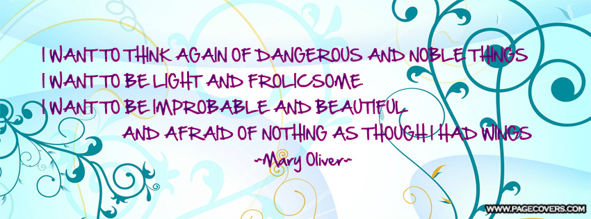 Mary Oliver's quote #2