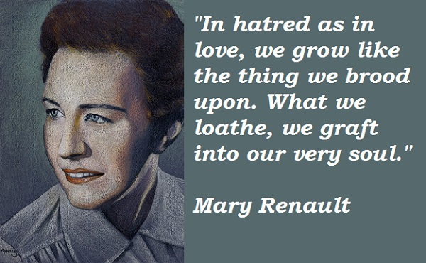 Mary Renault's quote #1