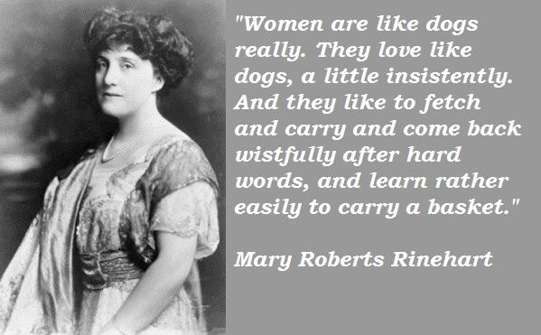 Mary Roberts Rinehart's quote #2