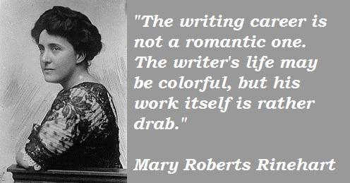 Mary Roberts Rinehart's quote #4