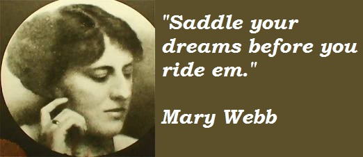 Mary Webb's quote #1