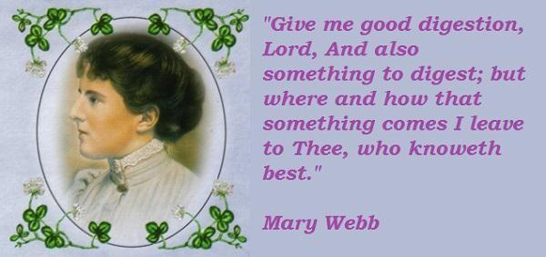 Mary Webb's quote #3
