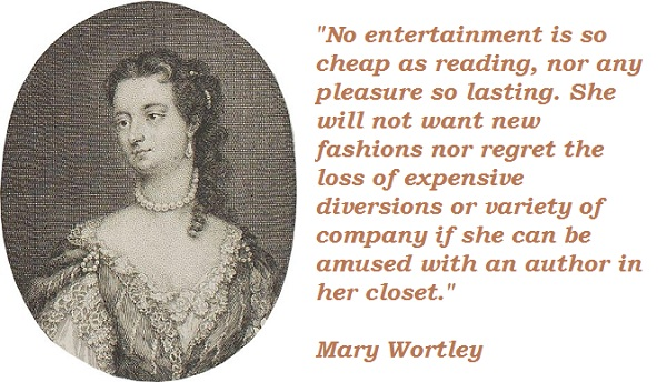 Mary Wortley's quote #1