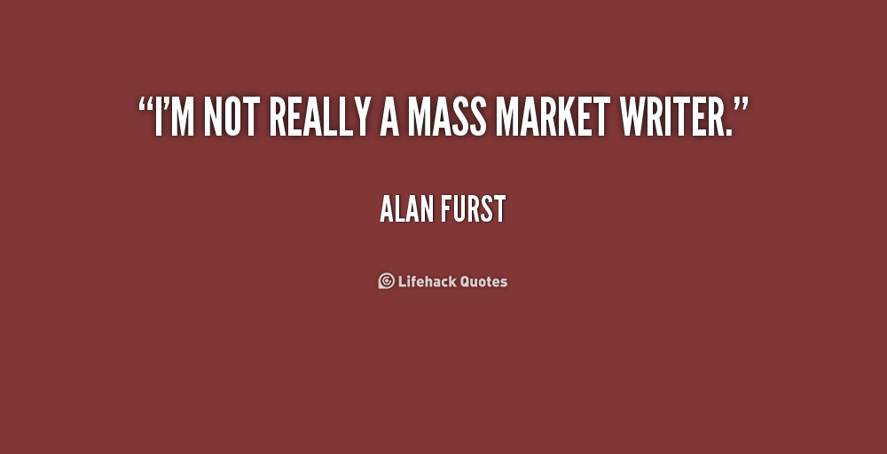 Mass Market quote #1