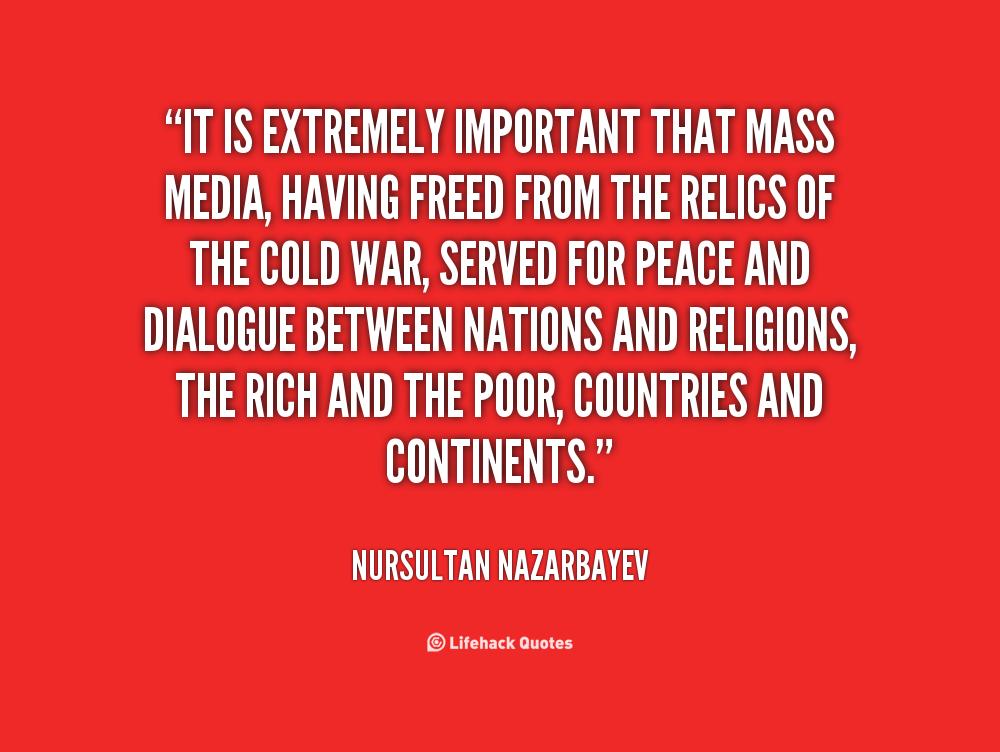 Mass Media quote #2
