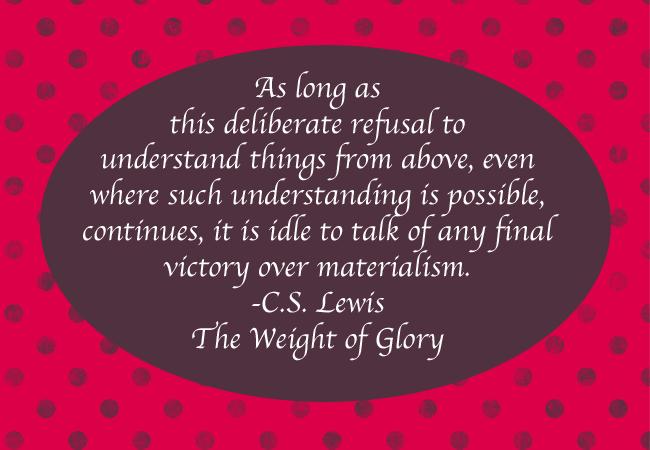 Materialism quote #1