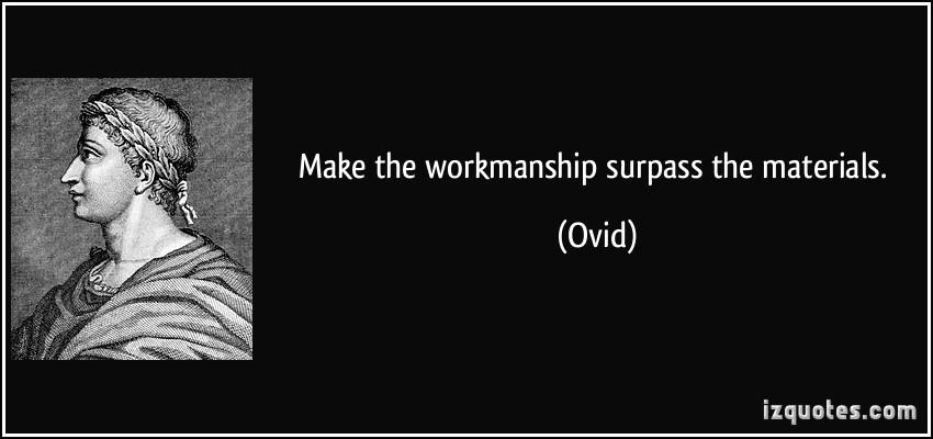 Materials quote #3