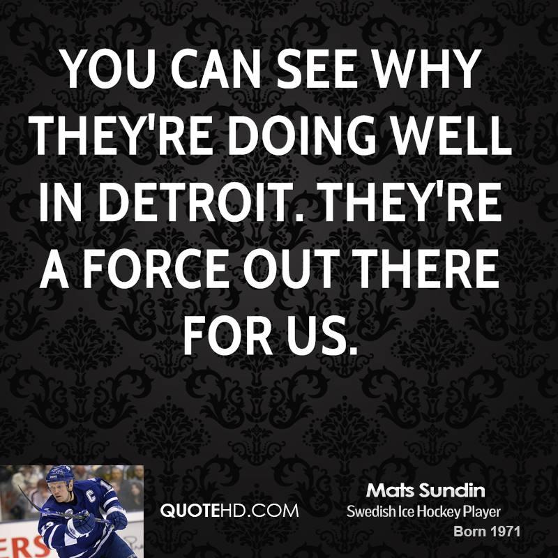 Mats Sundin's quote #3