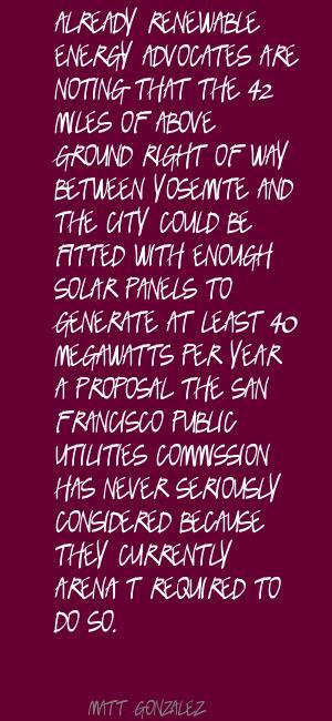 Matt Gonzalez's quote #3