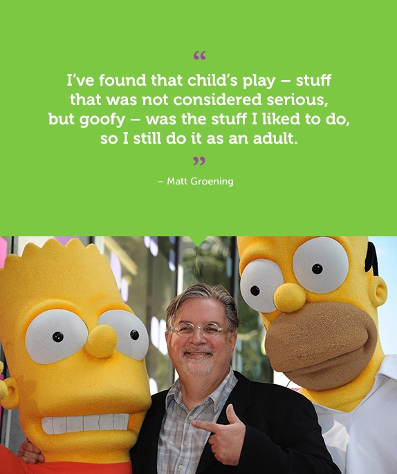 Matt Groening's quote #1