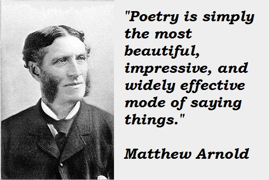 Matthew Arnold's quote #1