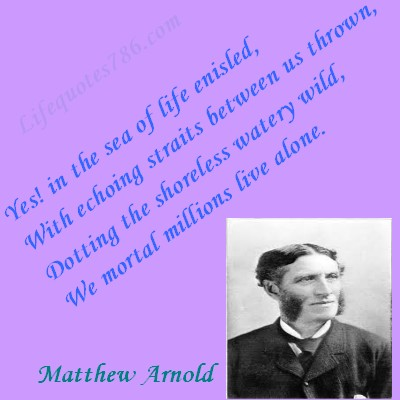 Matthew Arnold's quote #3