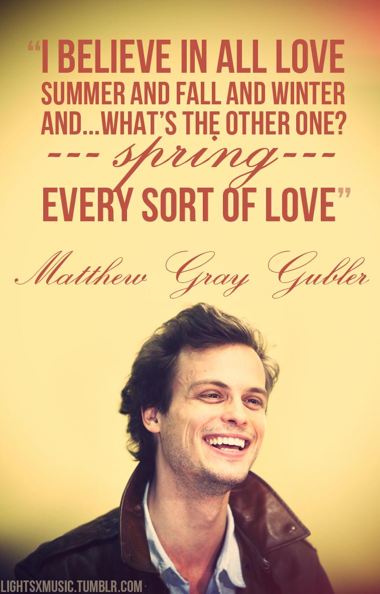 Matthew Gray Gubler's quote #7