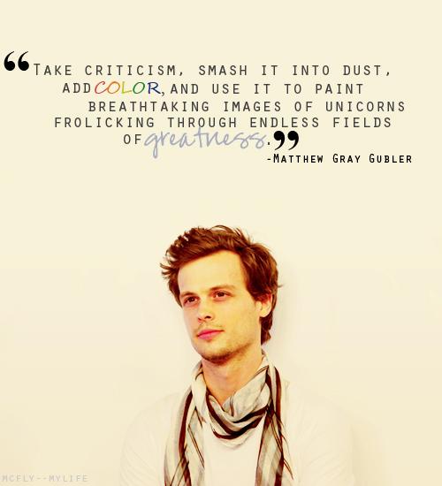Matthew Gray Gubler's quote #2
