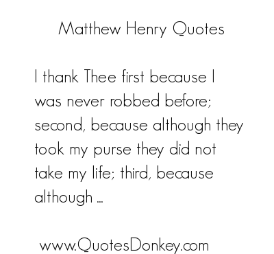 Matthew Henry's quote #5