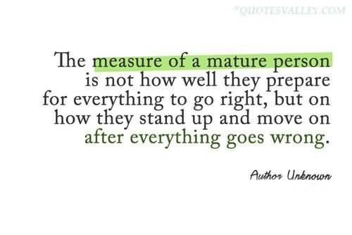 Mature quote #7
