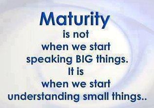 Maturity quote #6