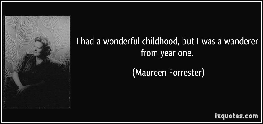 Maureen Forrester's quote