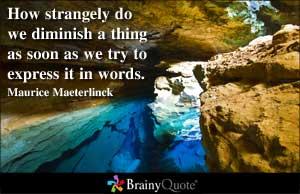 Maurice Maeterlinck's quote #6