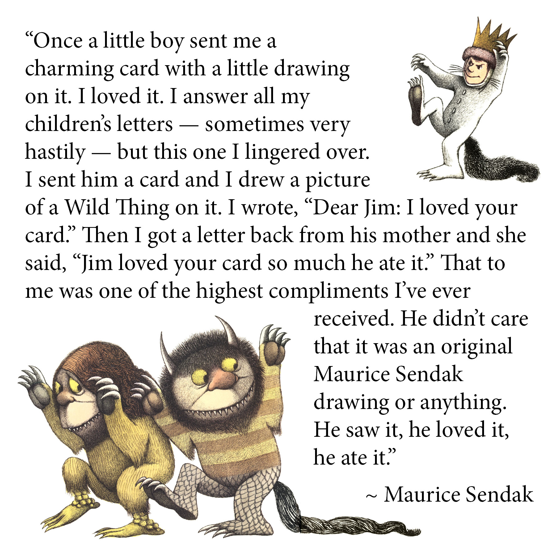 Maurice Sendak's quote #1