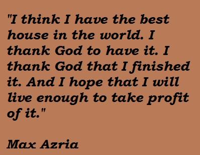 Max Azria's quote #4