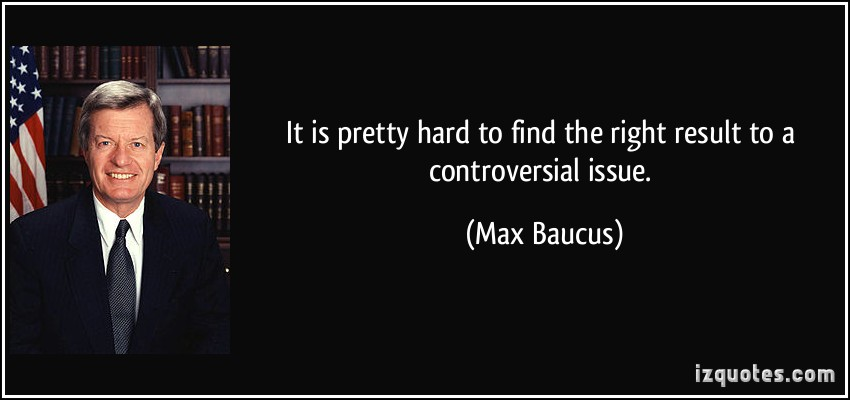 Max Baucus's quote #5