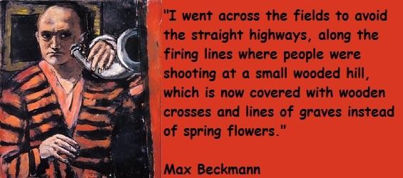 Max Beckmann's quote #3