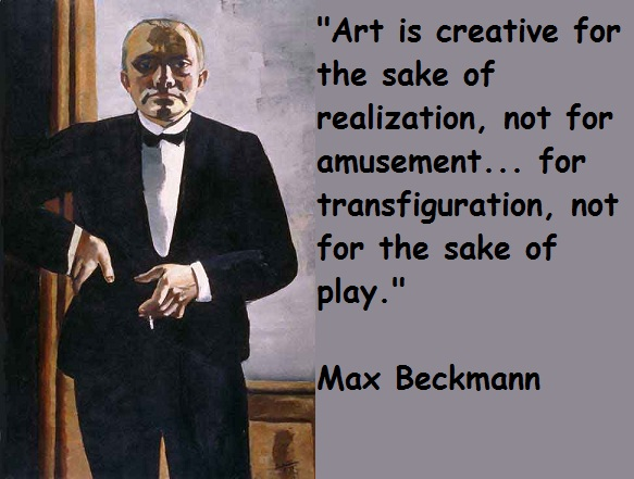 Max Beckmann's quote #5