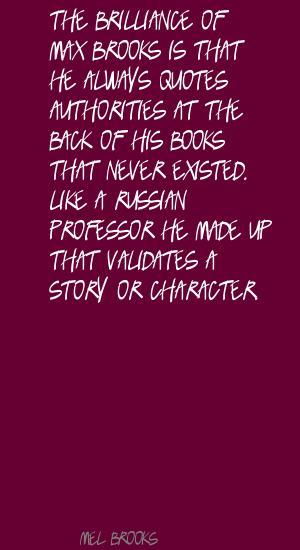Max Brooks's quote #3