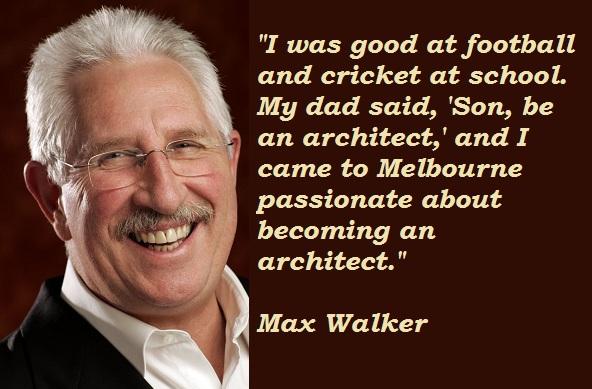 Max Walker's quote #2