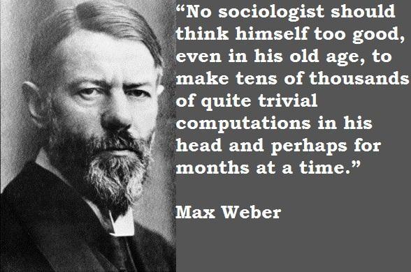 Max Weber's quote #5