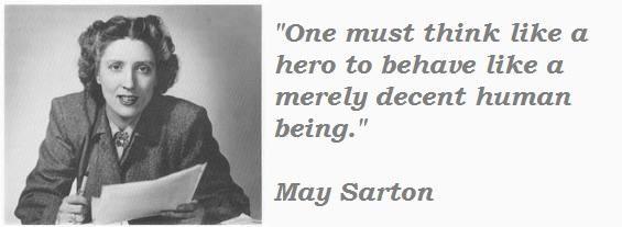 May Sarton's quote #6