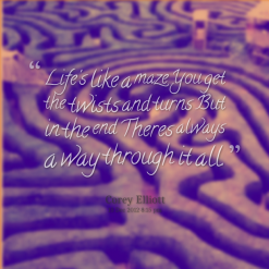 Maze quote #2