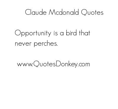 Mcdonald quote #3