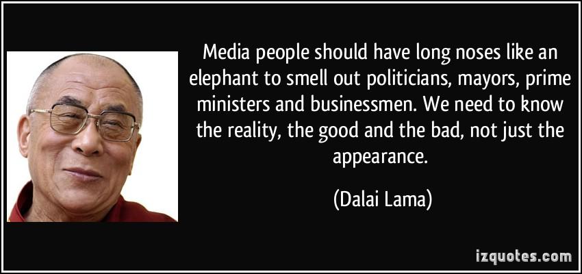 Media People quote #1