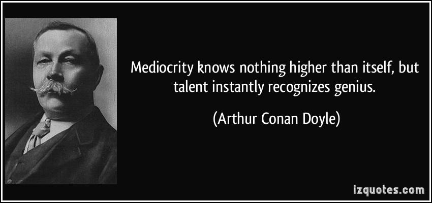 Mediocrity quote #1