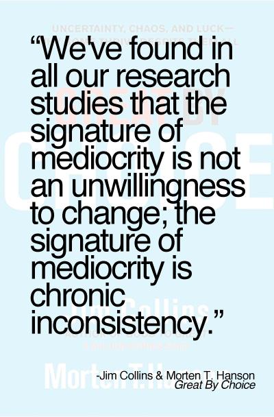 Mediocrity quote #4