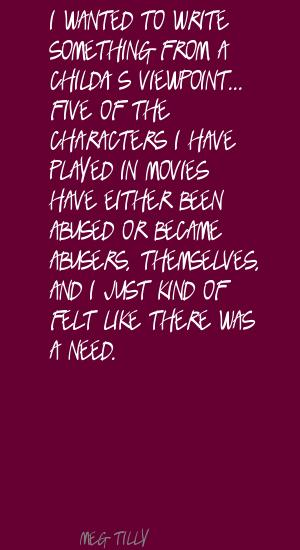 Meg Tilly's quote #6